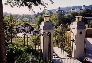 Iron Work • San Anselmo, California - CDPC Landscape Architecture